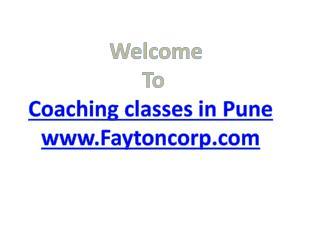 Training institute in Pune