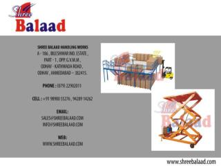 Hydraulic Stacker, Material Handling and Lift Equipment