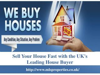 MLS Properties: UK's Leading Home Buyer