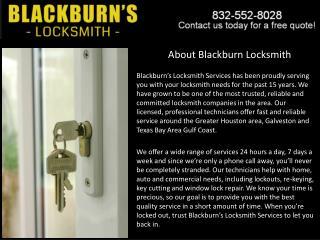 Locksmith Pasadena