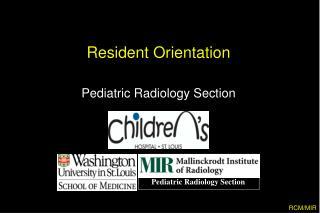 Resident Orientation