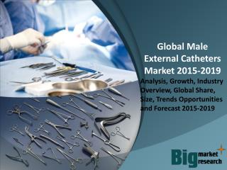 Global Male External Catheters Market 2015-2019