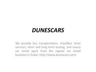 Rent Cars in Dubai