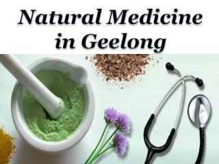 Natural Medicine Geelong