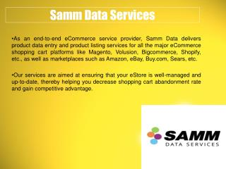 eBay and Amazon Listing Services