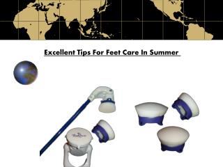 Excellent Tips For Feet Care In Summer
