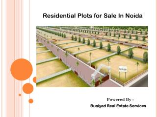 Residential Plots for sale  in Noida
