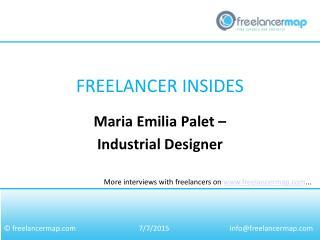 Maria Emilia Palet - Industrial Designer