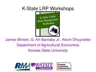 K-State LRP Workshops