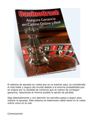 CasinoCrash - Asegura Ganancia en Casino Online y Real