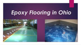 Epoxy Flooring in Ohio