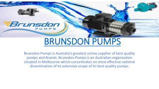 Brunsdon Pumps