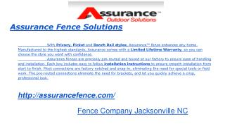 Vinyl Fence Installation, Fence Repair and Contractor Jackso