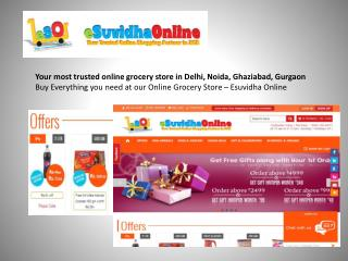 Your most trusted online grocery store
