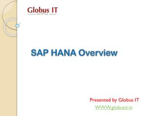 SAP Hana Admin Training Institutes in Hyderabad
