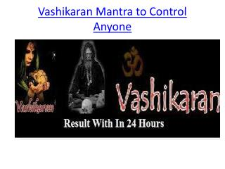 Vashikaran Mantra to Get Back Lost love