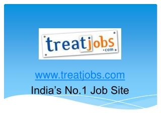Job Openings - Jobs - Job Recruitment - Treatjobs.com