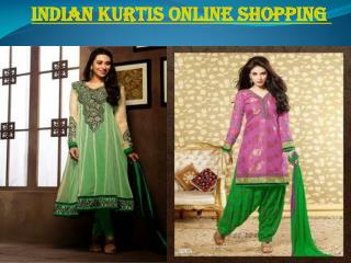 Indian kurtis online shopping