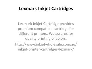printer cartridges lexmark