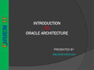 Oracle Training Institutes in Hyderabad