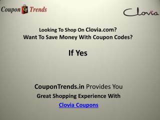 Clovia Coupons