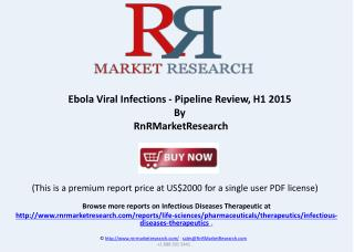 Ebola Viral Infections Therapeutic Pipeline Review, H1 2015
