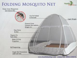 Buy Medicated Mosquito Net Instead Of Just Mosquito Net