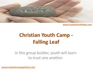 Christian Youth Camp - Falling Leaf