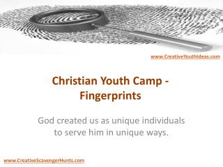 Christian Youth Camp - Fingerprints