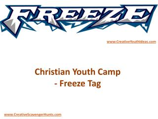 Christian Youth Camp - Freeze Tag