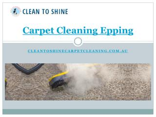 Carpet Cleaning Epping