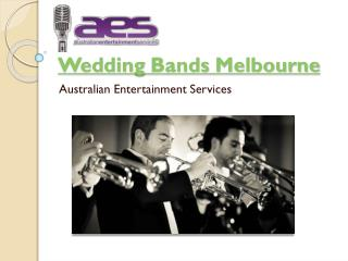 Wedding bands Melbourne