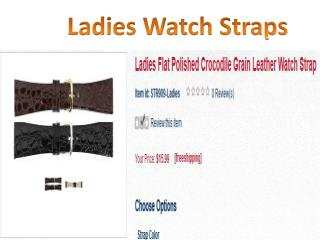 Ladies Watch Straps