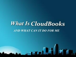 What are Small Bussiness Owners Using CloudBooks For?