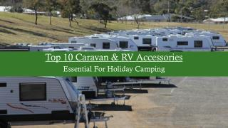 Top 10 Caravan & RV Accessories