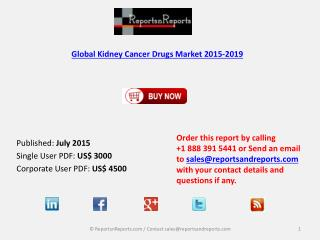 Analysis of Global Kidney Cancer Drugs Industry Trend Report