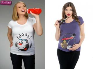 Make your pregnancy funnier with Funny Maternity Bump T Shir
