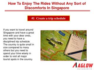 How to enjoy the rides without any sort of discomforts in Si