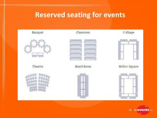 Reserve your Seating Benefits for Events | MeraEvents.com