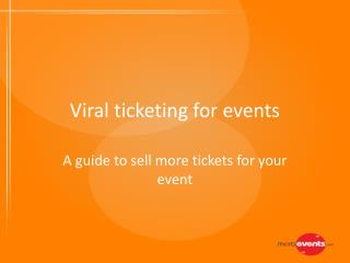 Viral ticketing for Events | MeraEvents.com