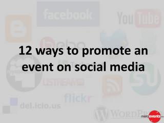 12 ways to promote an event on social media | MeraEvents.com