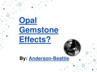 Opal Gemstone Effects