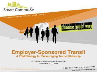 Employer-Sponsored Transit