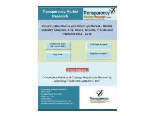 Construction Paints and Coatings Market � Global Industry An