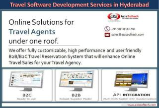 Travel Software Development Hyderabad - Axis Softech