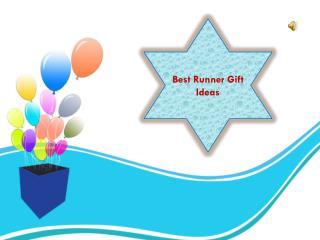 Runner Gift Ideas | Running On the Wall