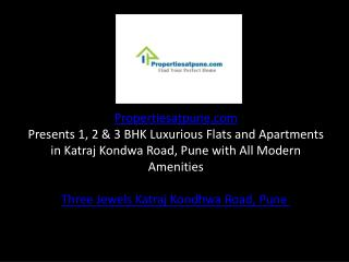 Kolte Patil Three Jewels Katraj Kondhwa Road Pune