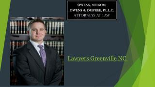 Best Attorneys In Greenville NC
