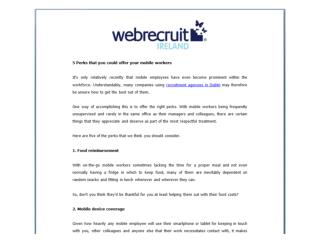 Recruitment Advertising Dublin