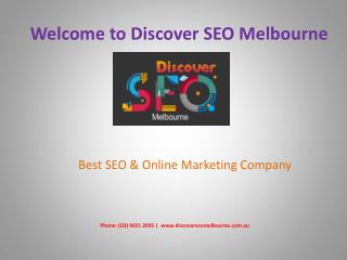 SEO Services Company Melbourne | Online Marketing Agency